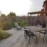 Oversiktsbilde terrasse med ulike soner